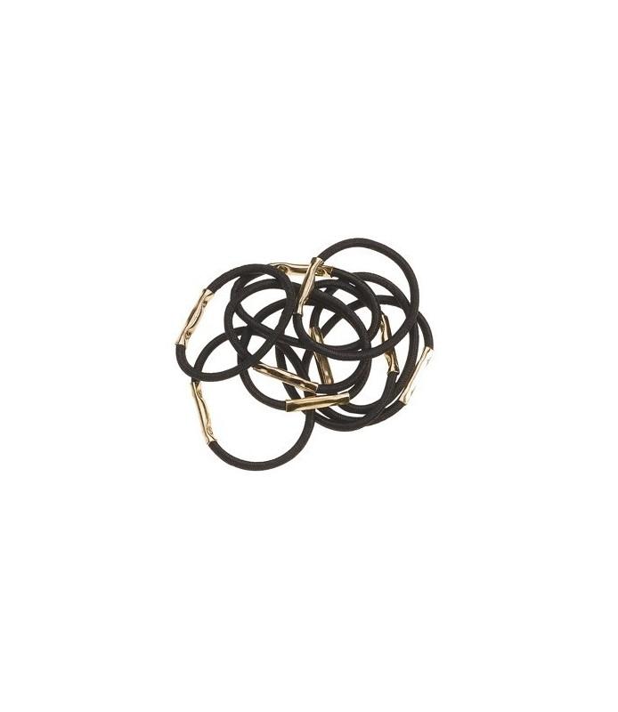elastique pm 10 pcs noir