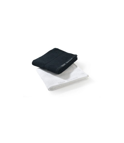 Serviettes 100% coton blanche x 12 résistante à la javel 75 x 48 cm