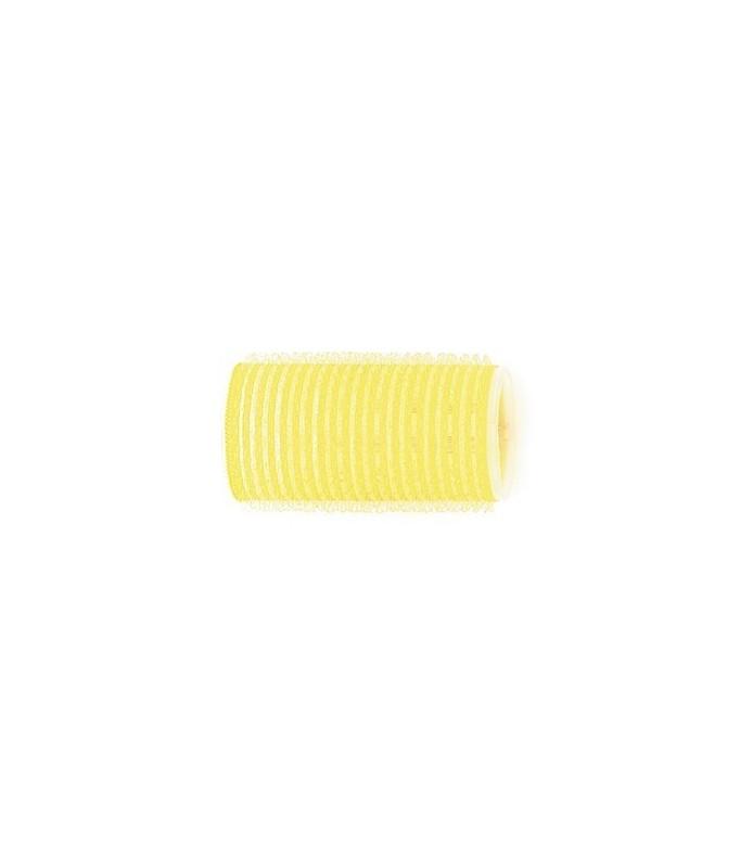 Rouleaux velcro 32mm 12 pcs jaune