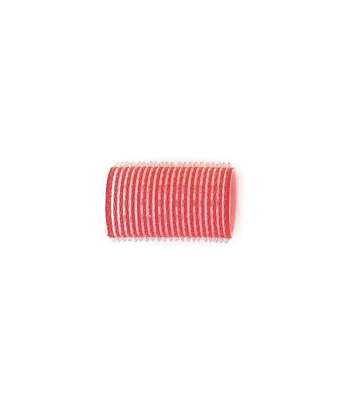 Rouleaux velcro 36mm 12 pcs rouge