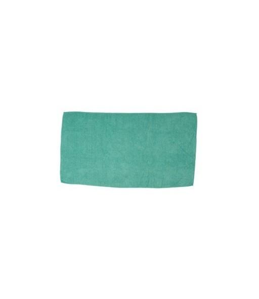 serviettes micro fibre 50x90cm 260gr turquoise 10 pièces
