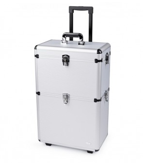 valise aluminium à 2 étages...