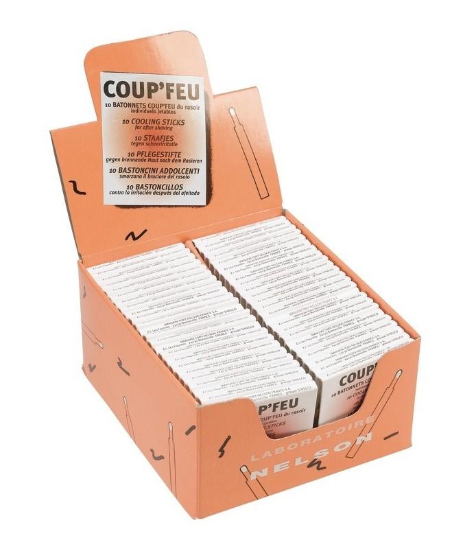 présentoir de 48 pochettes dAllumettes hémostatique jetables