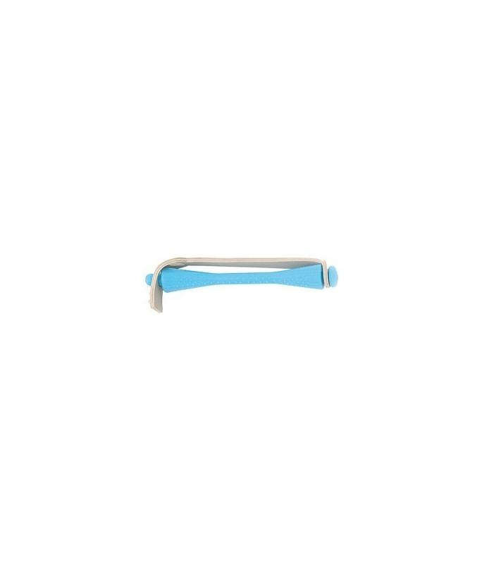 bigoudis permanente 12 pcs bleu ciel 4mm