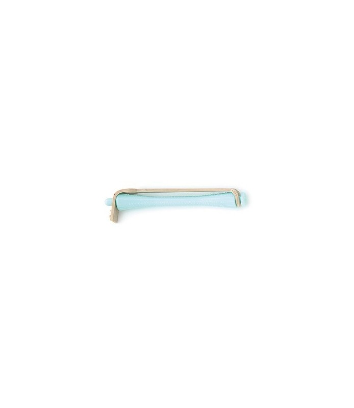 bigoudis permanente 12pcs turquoise 5mm