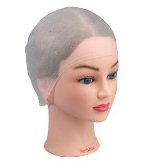 bonnet mèche prétroué silicone