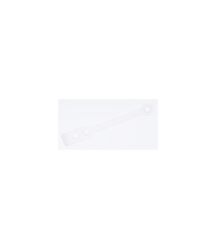 elastique silicone court plat 50 pcs