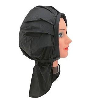 bonnet permanente velcro noir