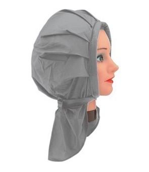 bonnet permanente velcro gris