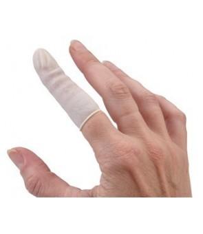 protection doigt en latex 100 pcs Taille M
