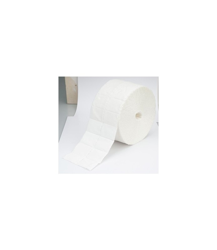 ouate de cellulose en rouleau 1000 pcs 4 x 5 cm