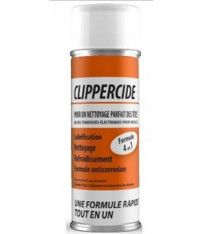 Spray désinfectant et lubrifiant pour tondeuses et ciseaux