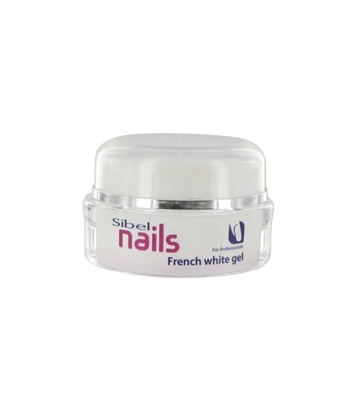 gel pour ongles 15ml french blanche