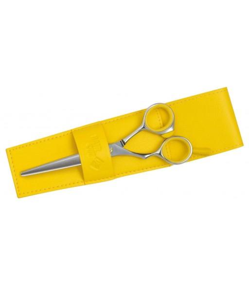 ciseaux sculpteur 40 dents fashion gaucher 5'0 jaune