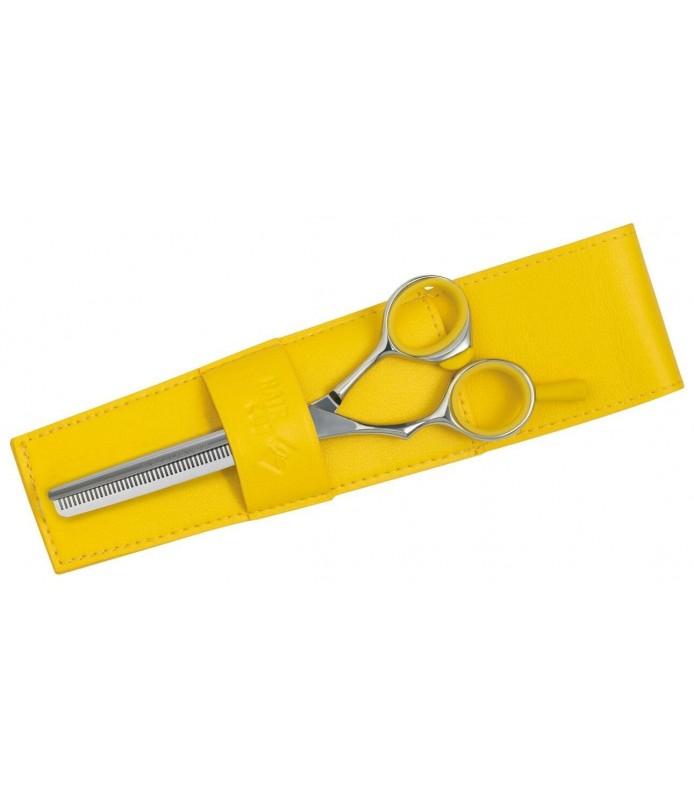 ciseaux sculpteur fashion gaucher 40 dents jaune