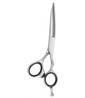 Ciseaux HAIR CUT slide cutting argent 5'5
