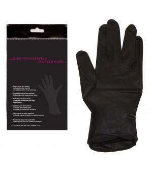 Gant latex noir 1 paire