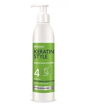 Shampoing post Lissage bresilien N°3 PROSALON KERATIN STYLE 275 ml