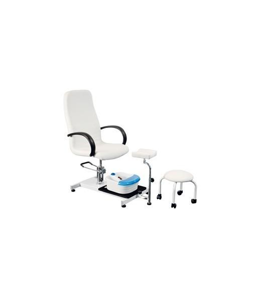 Fauteuil pédicure ensemble fauteuil/support