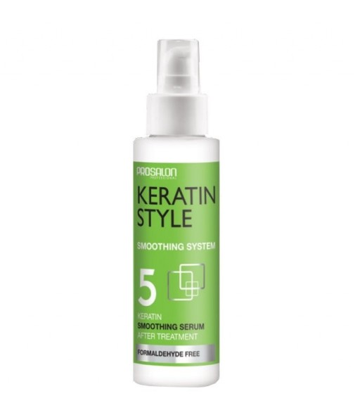 Sérum post Lissage bresilien N°5 PROSALON KERATIN STYLE 100 ml