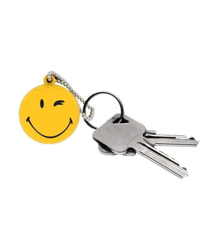 Lot de 6 Porte clef smiley
