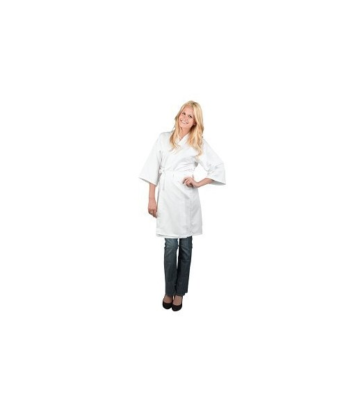 veste customer polylight blanc Taille M- L