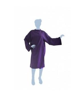 peignoir cape soft violet...