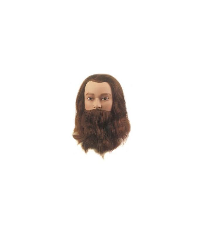 tete d'appr leif-classic barbe et moustache 20-25 cm