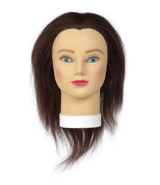 girly 35 tete d'apprentissage cheveux naturels 15-35cm