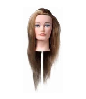 tête malléable femme pour chignon longueur 30-45 cm