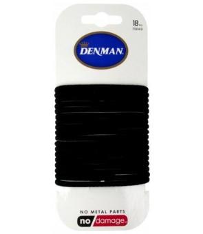 elastiques noirs denman 4mm...