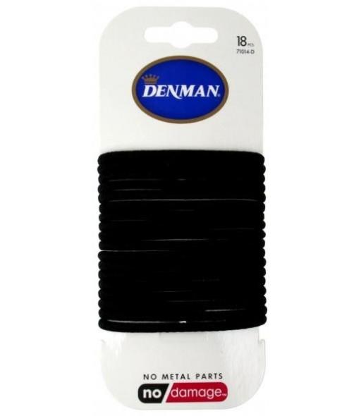 elastiques noirs denman 4mm x 18