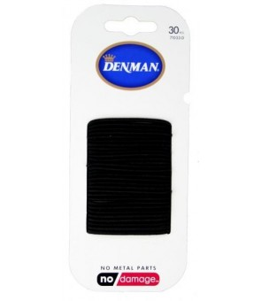 elastiques noirs denman 2mm...