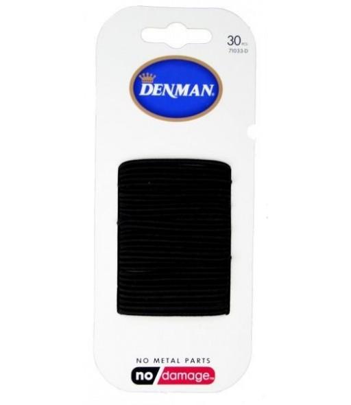 elastiques noirs denman 2mm x 30