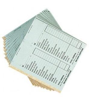 carnet caisse sans numéro coloris blanc par 10 pcs