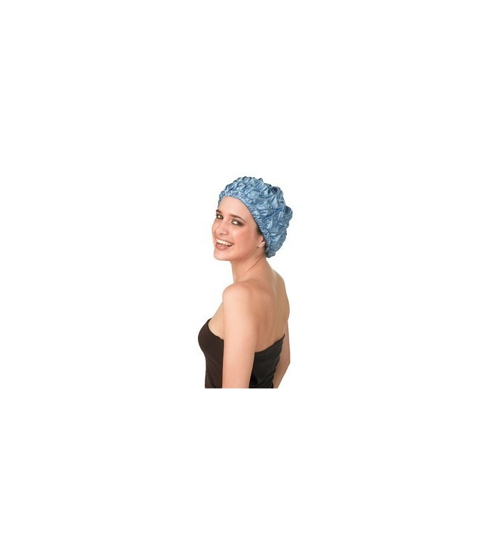 bonnet douche polyester gm 4 elast bleu ciel