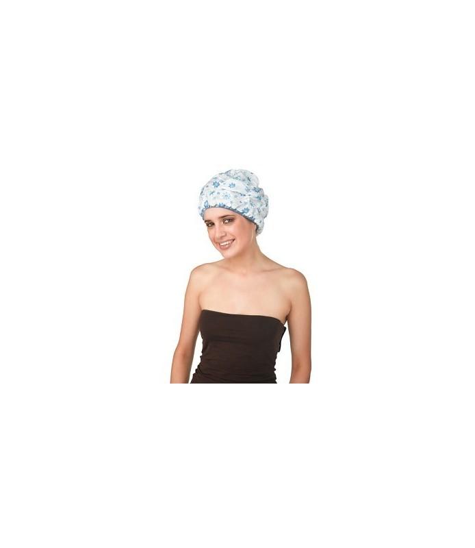 bonnet douche polyester large imprime