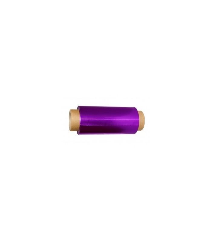 alu rouleau 12cm x 100m - 15 microns violet